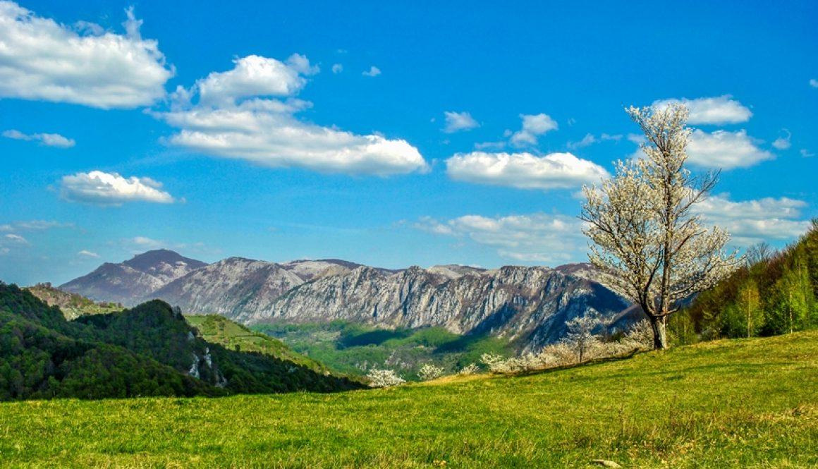 Primavara in Munții Cernei și Mehedinți