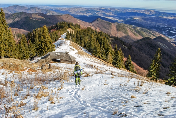 Revelion în Munții Vrancei