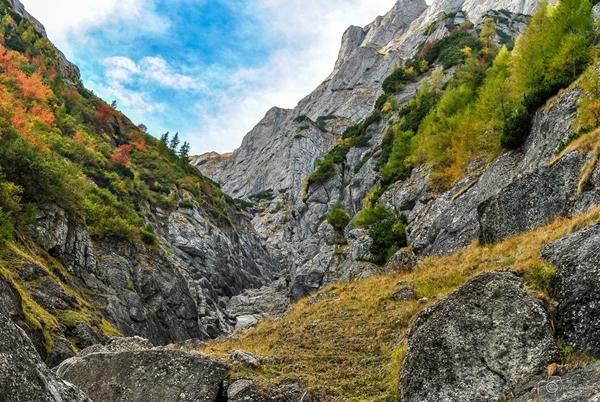 Revenirea pe Valea Albă, dar colorată